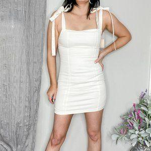 SUPERDOWN REVOLVE Siona tie strap dress NWT 0422